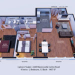 9 Series - 2 Bedroom, 1.5 Bath - 1457 SF