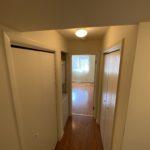Apt 107 Hallway to Bedroom